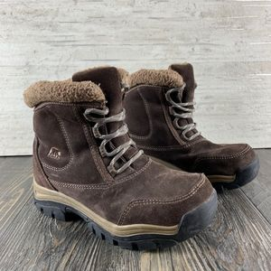 Sorel l Waterfall  Low-lace - Brown Suede - 5